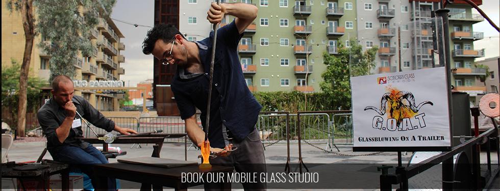 Mobile Glass Studio | The G.O.A.T.