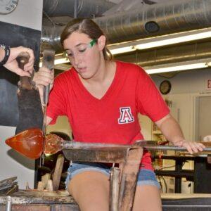UA Student_Semester Glassblowing