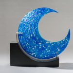 "Karen Bexfield ""Luna Cerulean"" 11"" x 11"" 