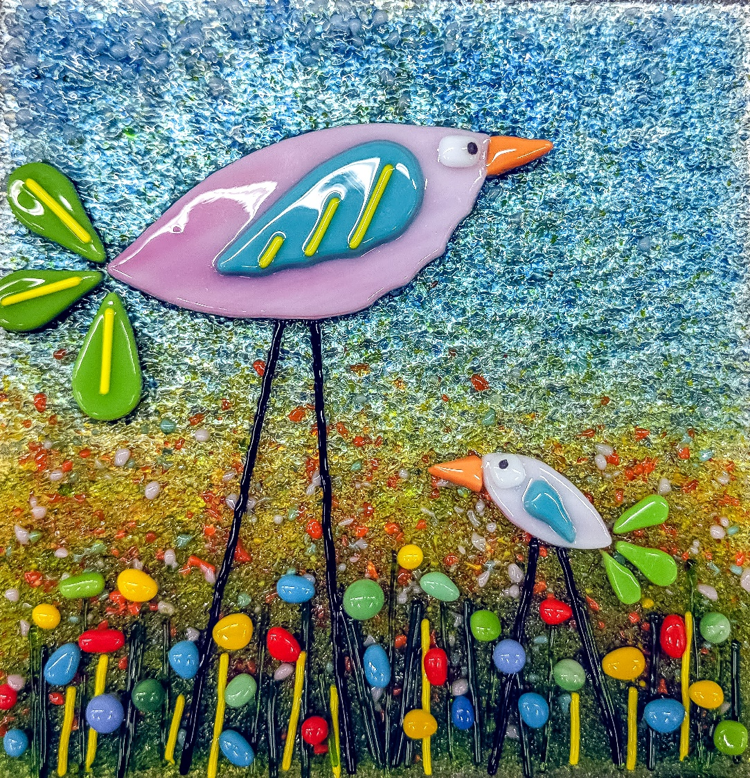 Happy Birds - Fun with Fusing