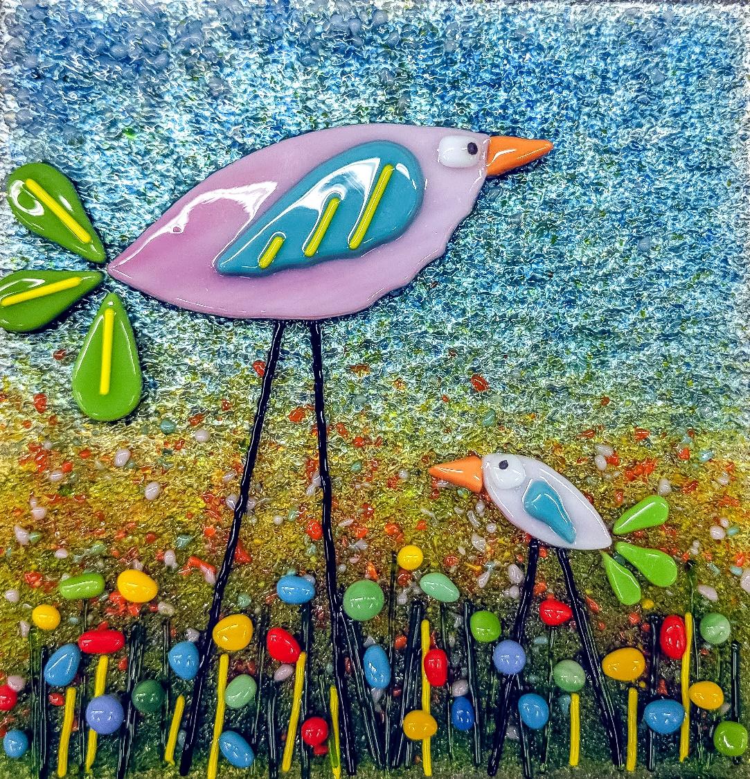 Happy Birds - Fun with Fusing