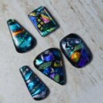 TBG fused dichroic glass